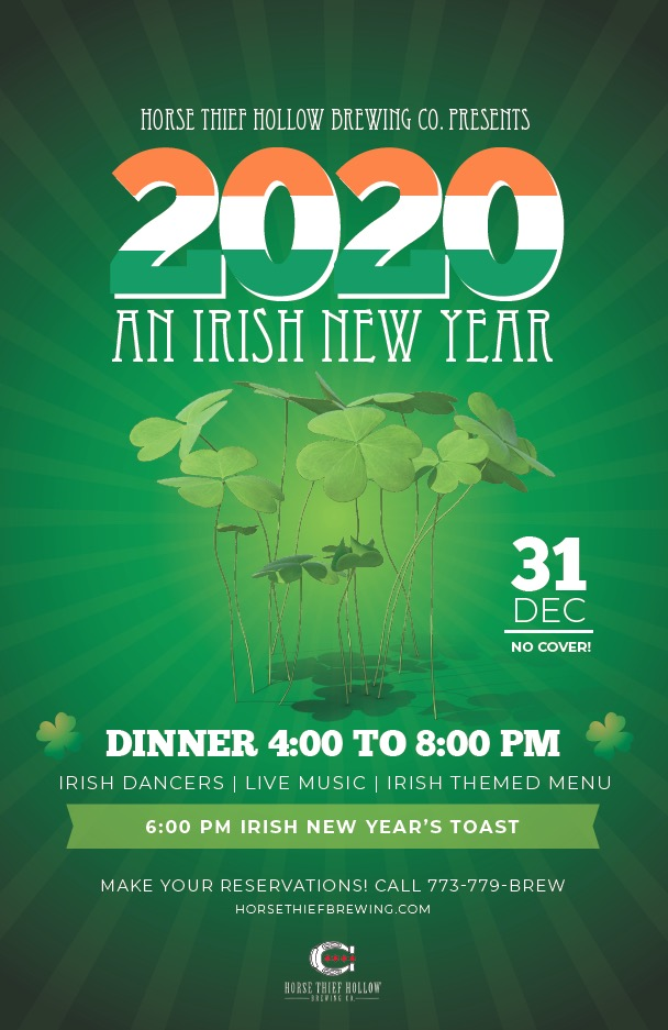 Irish New Year Party full-sized poster